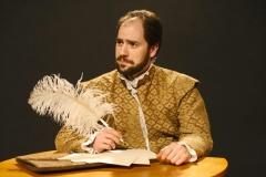 Shakespeare Pensive. Photo by John Lamb.