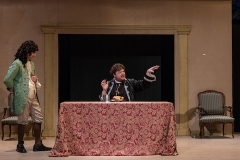"""Tartuffe's Dinner"" Photo by George Katsekes Jr."