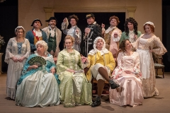 """Tartuffe's Cast of Characters"" Photo by George Katsekes Jr."