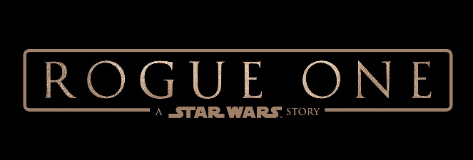 "Banner stating ""Rogue One: A Star Wars Story"""