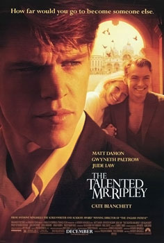 Movie poster for The Talented Mr. Ripley (1999)