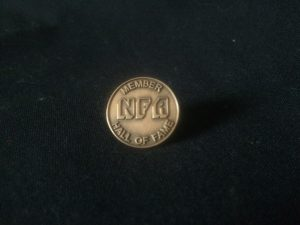 NFA Hall of Fame Pin