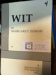 Wit by Margaret Edson