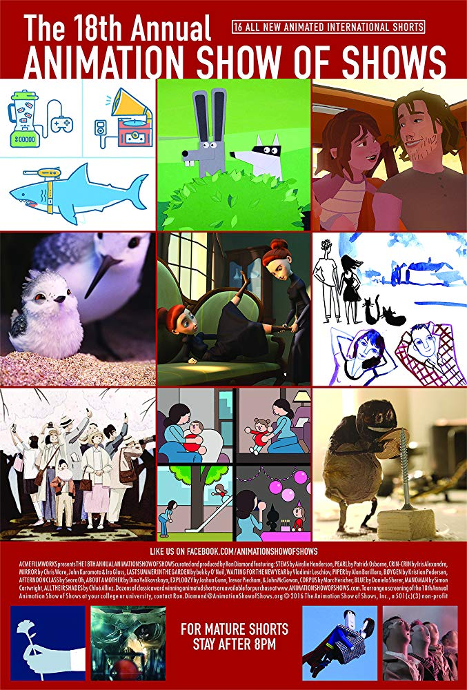Poster for the 18th Annual Animation Show of Shows