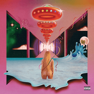 Album cover for Rainbow by Kesha