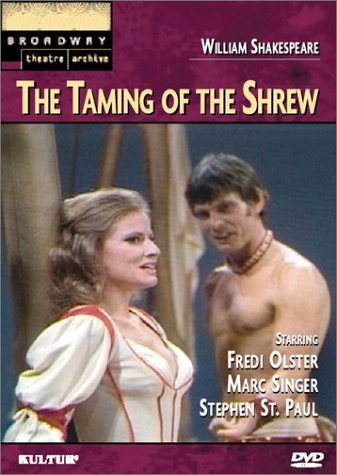DVD Cover for Taming of the Shrew (1976)